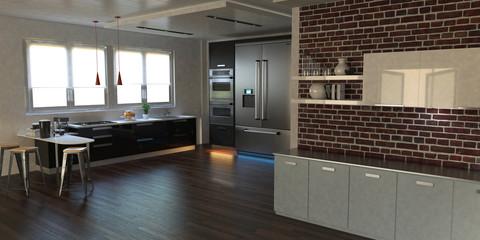 Cucina, Interno Architettonico