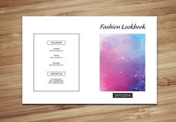 Grid Style Fashion Lookbook Layout 1