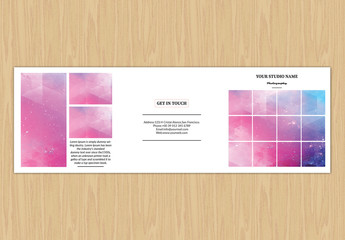 Wedding Photographer Brochure Layout 1