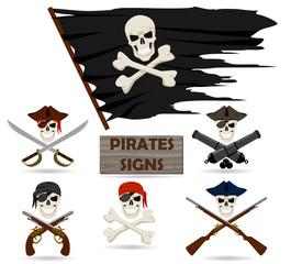 Pirates signs set