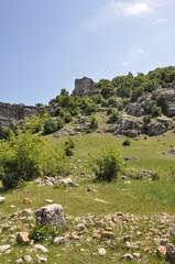 Ruins of ancient Olba in Turkey