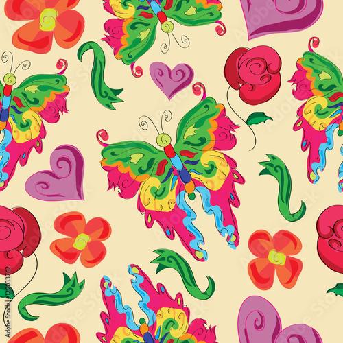 цветочки сердечки картинки