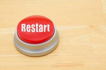A Restart red push button