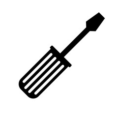 screwdriver tool icon image vector illustration design