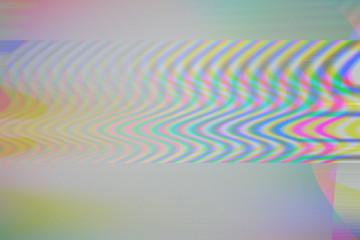 LED Screen glitch.