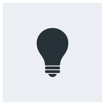 Bulb icon, lamp icon
