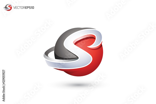 """S Logo 3d """"Abstract Letter ..."""