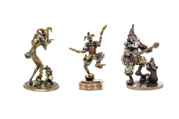 Jester figurines