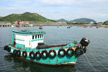 Generic Small Fishing Ship of Thailand