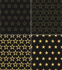 Star Pattern Background.Seamless pattern