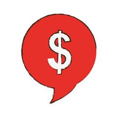 money sign icon image vector illustration design
