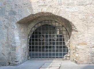 gate in Rothenburg ob der Tauber
