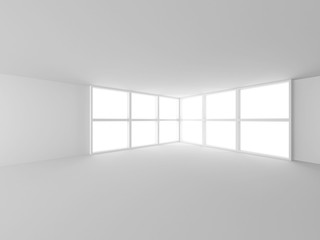 White Abstract Architecture Design Background