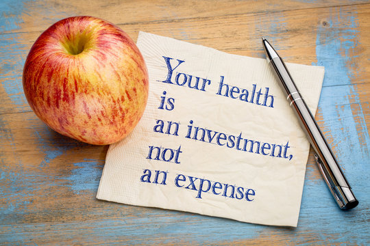 Your health is an investment