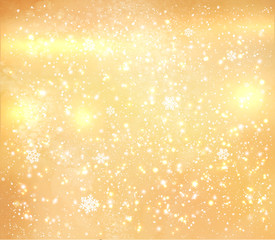 Gold shiny grunge background