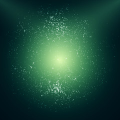 Green Abstract Vector Background | EPS10 Design