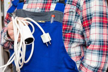 Elektriker Sicherung Strom Kabel