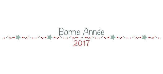 BONNE ANNÉE 2017 FRISE