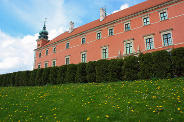 Royal Castle in  Warsaw, Poland.