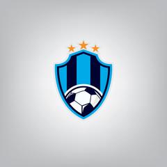 Soccer Logo Design Template l Football badge team identity l Soc