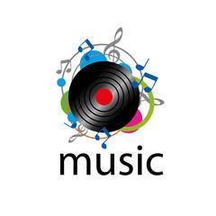 vector logo sound