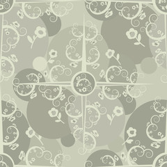 Abstract ornament pattern. Vector