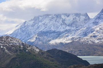 Landscape in Patagonia Chile