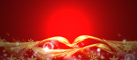 fondo de navidad con espacio libre