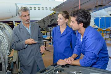 aircraft parts assembler