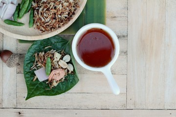 Miang Kham -  leaf wrap appetizer is delicious.