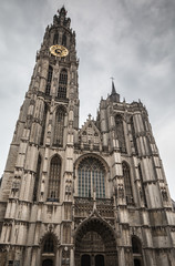 Our lady cathedral in Antwerp