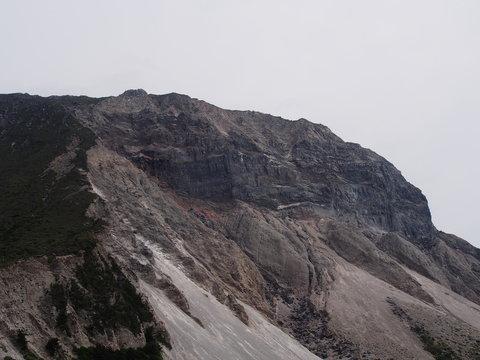 天上山の断崖絶壁(神津島)