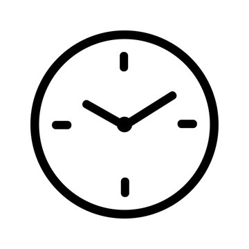 Icon - Uhr - Uhrzeit - Pause