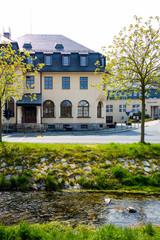 Rathaus von Rodewisch in Sachsen