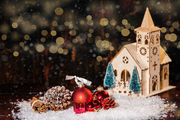 Weihnachten Kapelle Kirche
