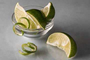 Lime Wedges and Twists