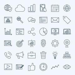 Line Development Icons
