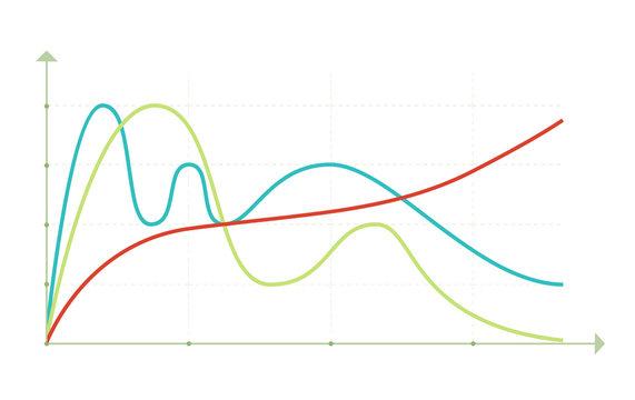Business data market elements diagrams