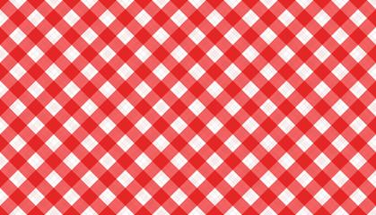 rot-weiß Karo Muster kariert