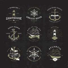 sail logo set invert