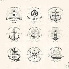 sail logo set