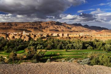 Oasis of Tinerhir, Morocco, Africa