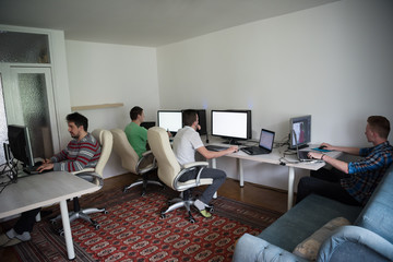 a group of graphic designers at work