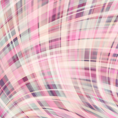 Vector illustration of pastel abstract background with blurred light curved lines. Vector geometric illustration.