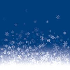 White Vector Snowflakes.