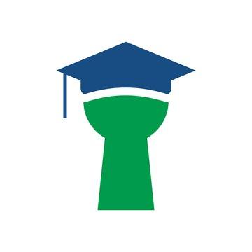 student loan logo. loans. vector.