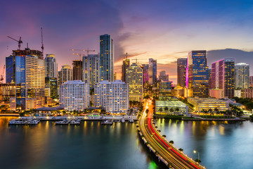 Miami, Florida, Skyline