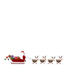 Mweey Christmas with Santa Claus
