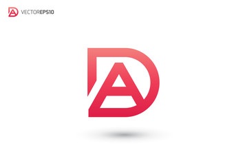 DA Logo or AD Logo