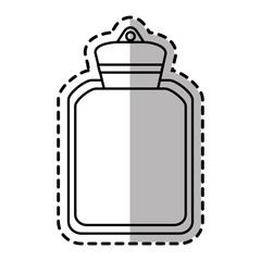Water bag icon. Medical health care hospital and emergency theme. Isolated design. Vector illustration
